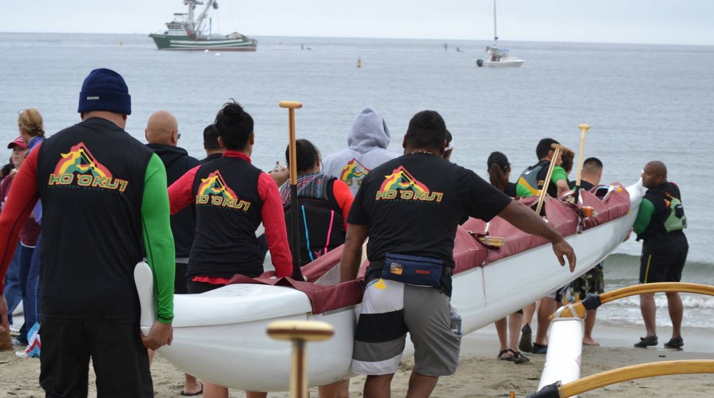 Outrigger Canoe Launch
