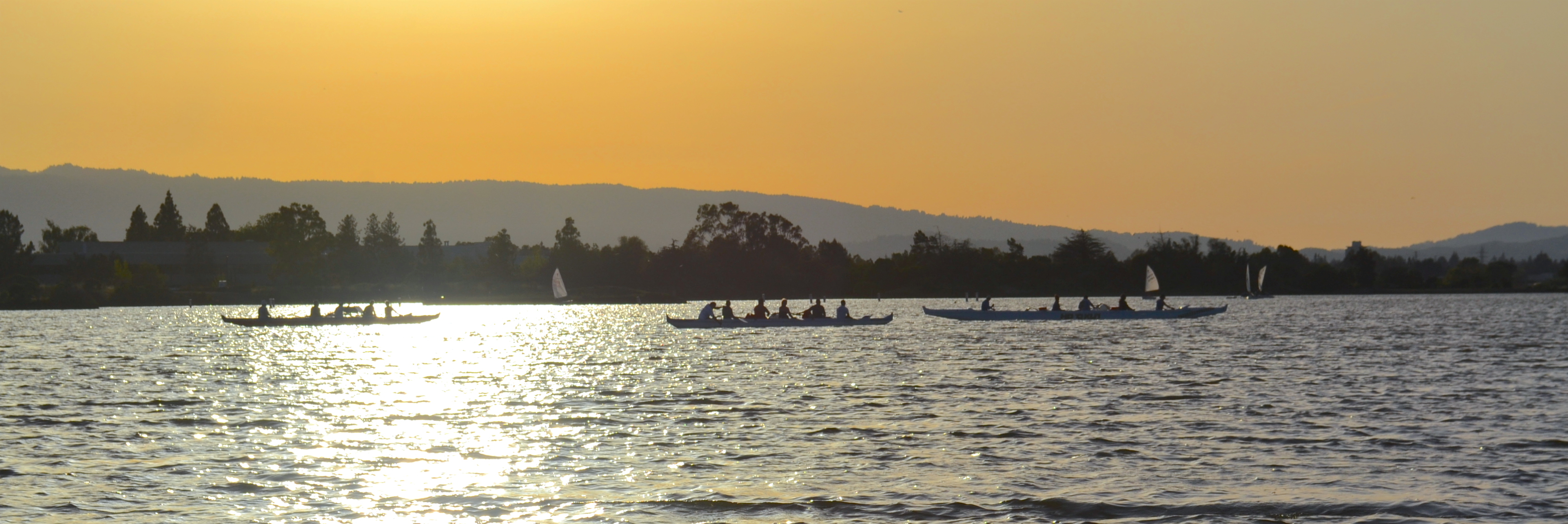 Shoreline Practice Sunset